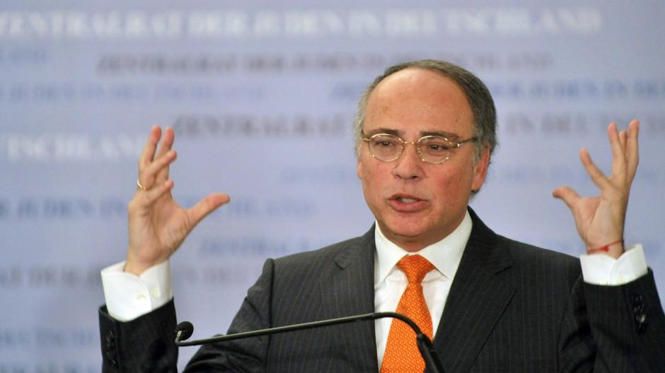 Der Präsident des Zentralrats der Juden, Dieter Graumann
