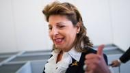Berthold Albrechts Witwe Babette kämpft im Rechtsstreit bei Aldi Nord um ihren Einfluss (Bild aus dem Jahr 2015)