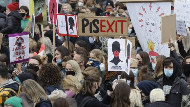 Massenproteste gegen polnische Regierung