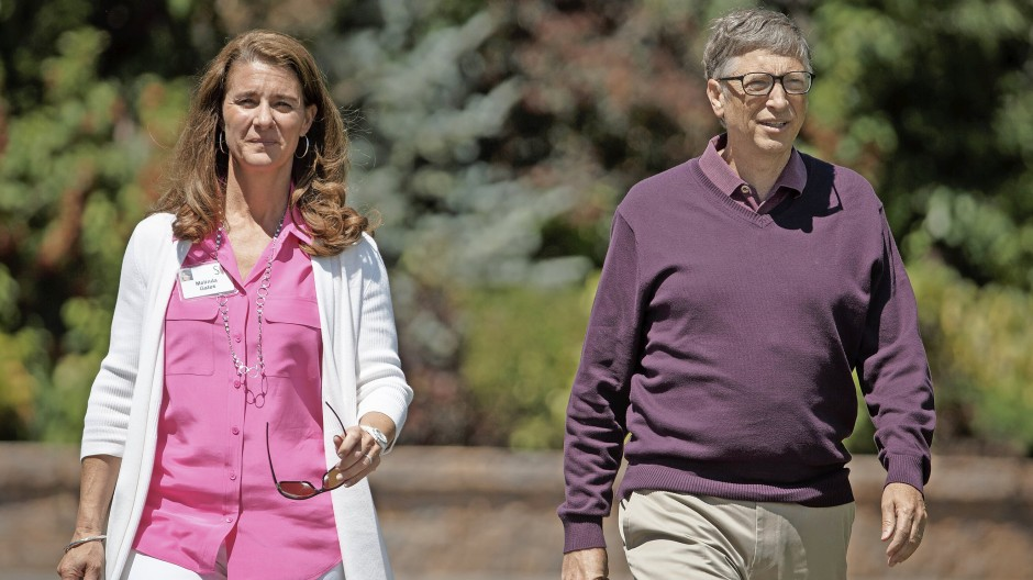 Gehen von nun an privat getrennte Wege, wollen ihre Stiftung aber weiterhin gemeinsam führen: Melinda und Bill Gates.