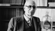 Seine Schriften und sein Denken bleiben wirkmächtig: Claude Lévi-Strauss im Jahr 1981