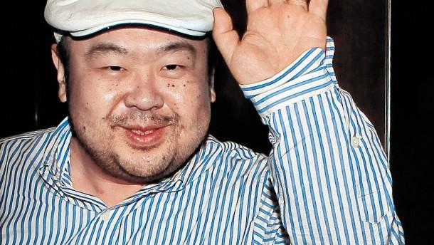 Halbbruder von Kim Jong-un in Malaysia vergiftet