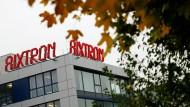 Der Unternehmenssitz des Spezialmaschinenbauers Aixtron