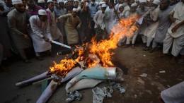 Proteste nach jüngsten Islam-Karikaturen