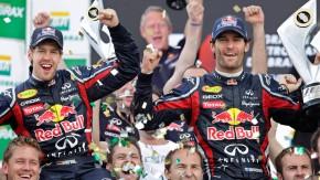 Ungetrübte Fröhlichkeit: Party bei Red Bull nach dem Rennen in Sao Paulo