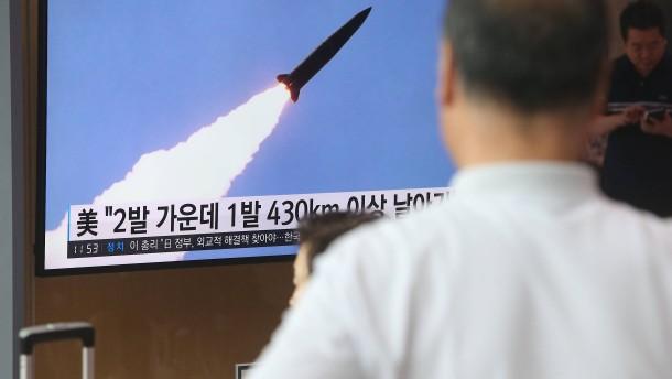 Nordkoreas Spiel mit dem Feuer