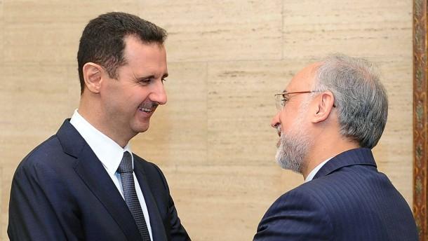 Salehi in Damaskus
