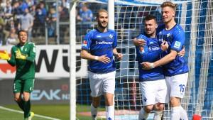 Darmstadt vertagt den vorzeitigen Abstieg