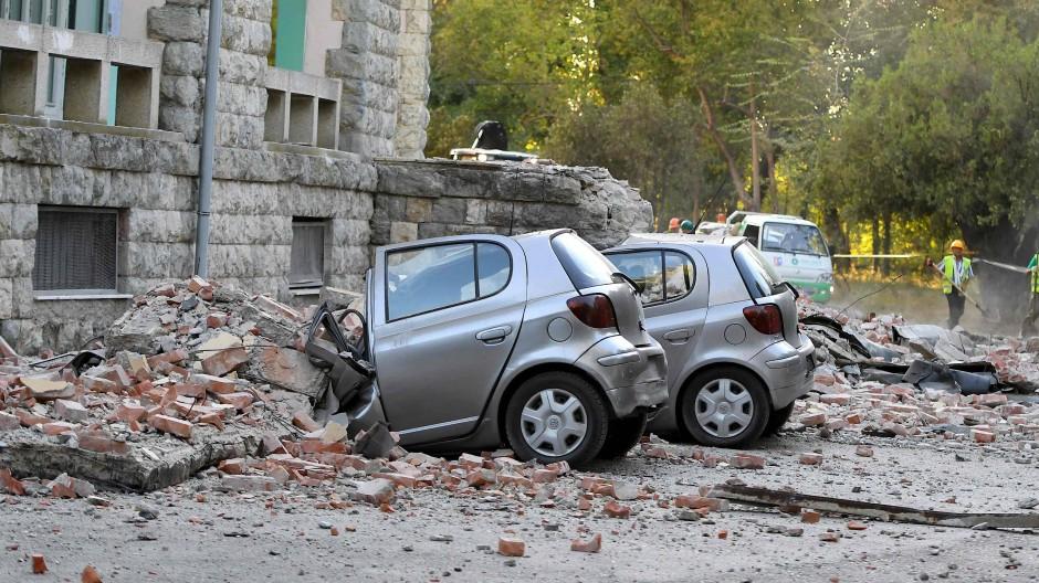 Schwerstes Erdbeben seit Jahrzehnten