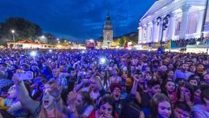 Marktplatz wird zur Festivalzone