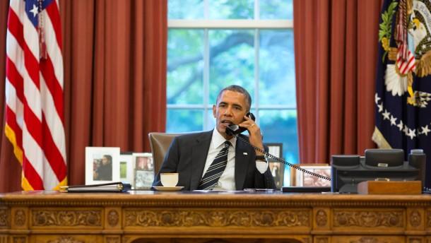 Obama telefoniert mit Präsident Rohani