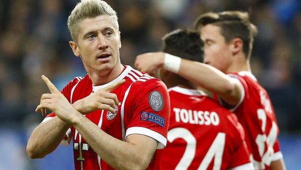 Unsichere Bayern wahren ihre Mini-Chance
