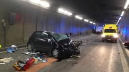 Gotthardtunnel nach tödlichem Unfall wieder befahrbar
