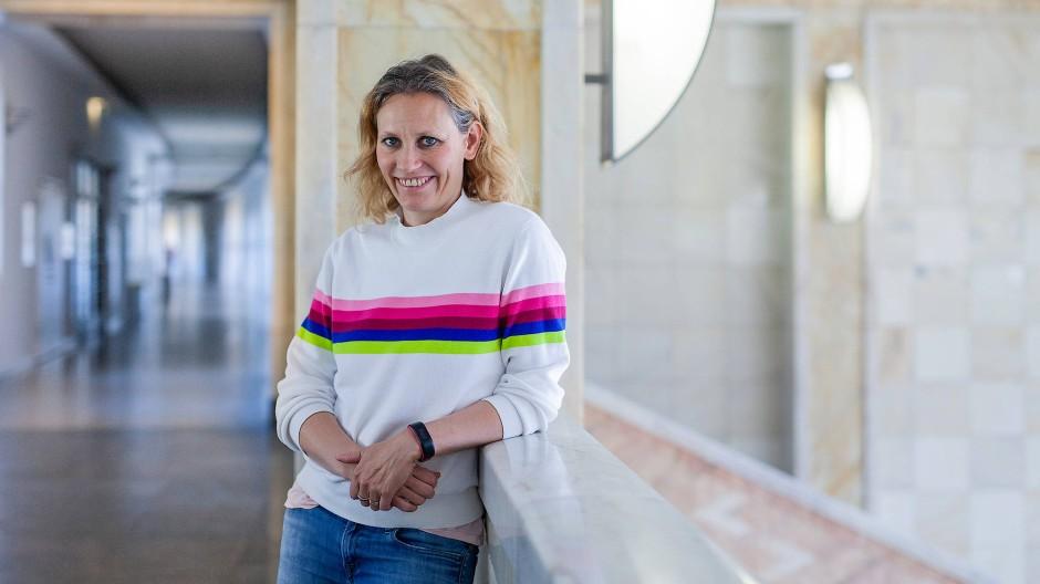 Gute Perspektive: Die Linguistin Cornelia Ebert hat eine Tenure-Track-Professur an der Uni Frankfurt.