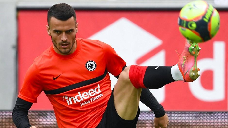 Jetzt doch weiter für die Eintracht am Ball: Filip Kostic
