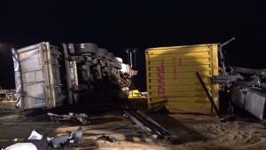 Drei Tote bei Unfall im Spessart - Vollsperrung auf der A3