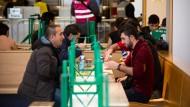 Flüchtlinge in Frankfurt - gesehen im Februar 2016