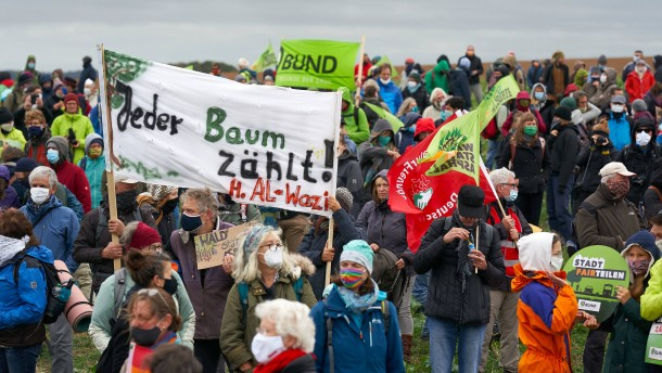 Weitere Proteste gegen den Ausbau der A49 angekündigt