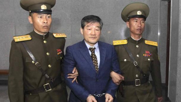 Nordkorea verurteilt Amerikaner zu langer Zwangsarbeit
