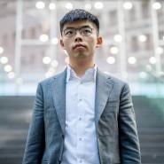 Der Hongkonger Demokratieaktivist Joshua Wong im September 2019 vor der Bundespressekonferenz in Berlin