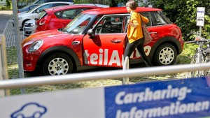 Viele Deutsche wollen nichts mit Carsharing zu tun haben