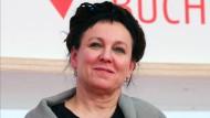Gerade ausgezeichnet: Olga Tokarczuk auf der Buchmesse