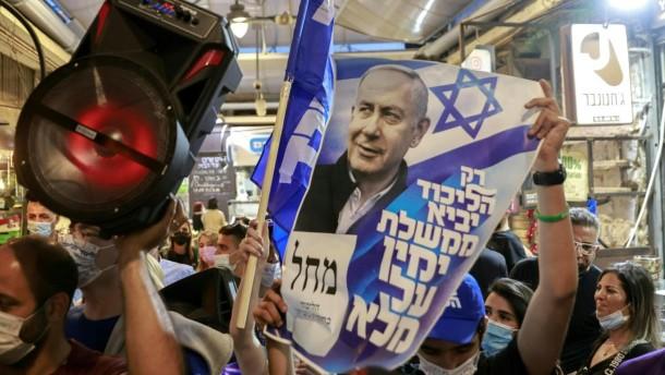 Ein Referendum über Netanjahu