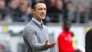 Weiß, was er will: Eintracht-Trainer Niko Kovac