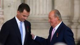Früherer König Juan Carlos verlässt Spanien
