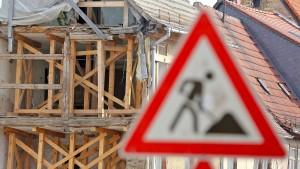 Den Architekten droht eine scharfe Auslese