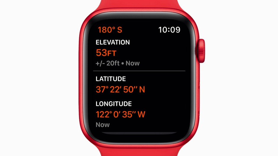 Jetzt auch in Rot: Apple Watch Series 6.
