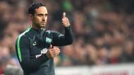 Werder verlängert mit Trainer Nouri