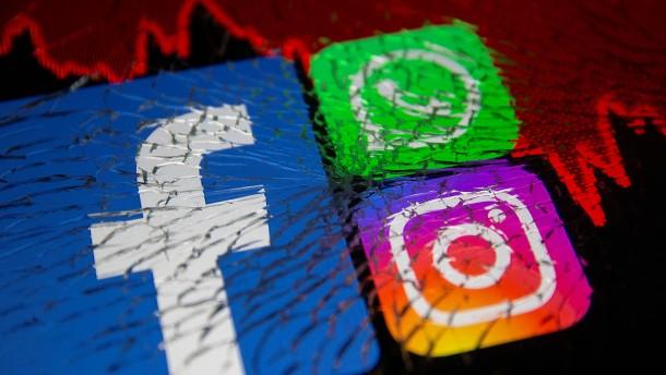 Facebook, WhatsApp und Instagram nach sechs Stunden wieder erreichbar
