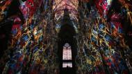 """""""Lux eucharistica"""": Der illuminierte Kölner Dom"""