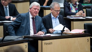 Grüne werden in Hessen immer stärker – die FDP bangt