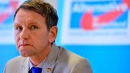 Will nicht in den Bundestag: der Thüringer AfD-Vorsitzende Björn Höcke