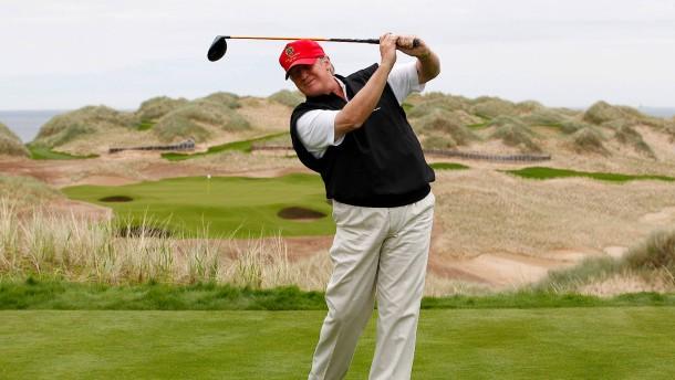 Donald Trump stürzt ab