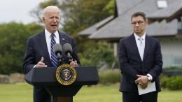 """Biden: """"Geht um unsere humanitäre Verpflichtung"""""""