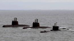 Argentinisches U-Boot bleibt verschollen