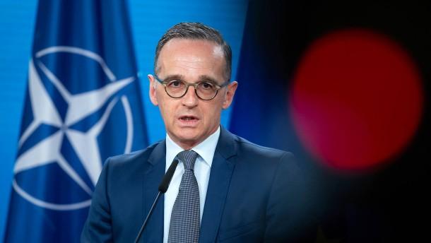 Maas weist Bitte von Präsident Selenskyj zurück