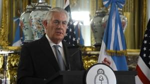 Tillerson denkt über Sanktionen gegen Venezuela nach
