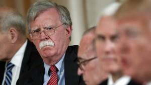 Wie Bolton den Präsidenten in Bedrängnis bringen könnte