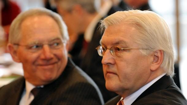 Wer wird Außenminister? Schäuble, Steinmeier, von der Leyen?
