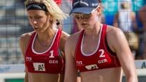 Not-Duo mit guten Aussichten: Laura Ludwig (l.) und Julia Sude
