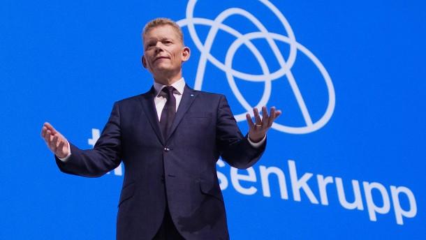 Thyssen-Krupp kämpft vor Aufspaltung mit Konjunkturrisiken