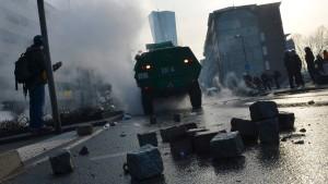 Bewährungsstrafe für Demonstranten