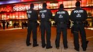 Bundesliga unter Hochsicherheit