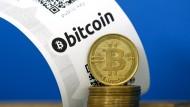 Die digitale Währung Bitcoin wird als Zahlungsmittel immer beliebter.