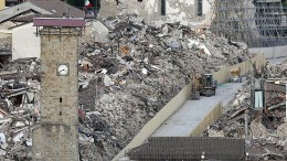 Italiens vergessene Erdbebenopfer