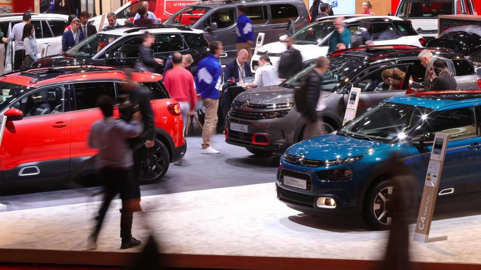 Branchentreff ohne Diesel: Autosalon in Paris